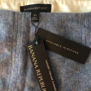 NWT Banana Republic light blue skirt